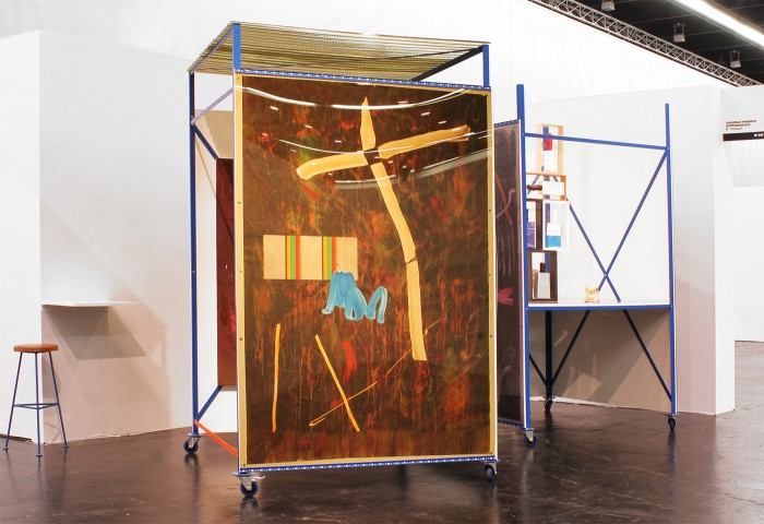 Andreas Breunig, Das Kompressionsmodul, NADA 2012, installation view