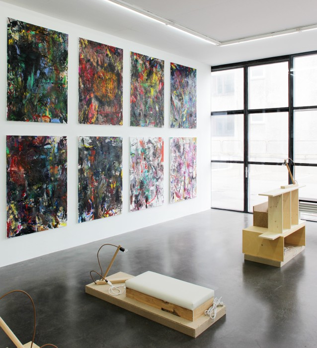 Andreas Breunig, Shut down, 2015, installation view