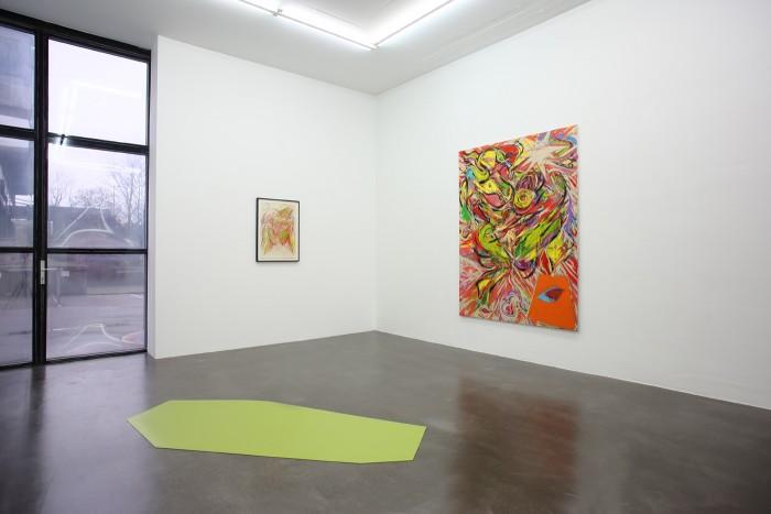 Ben Cottrell, Vibrations, 2016, installation view 2