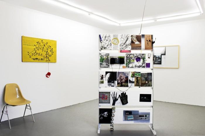Claus Böhmler, Instrumentelle Musik, 2012, installation view