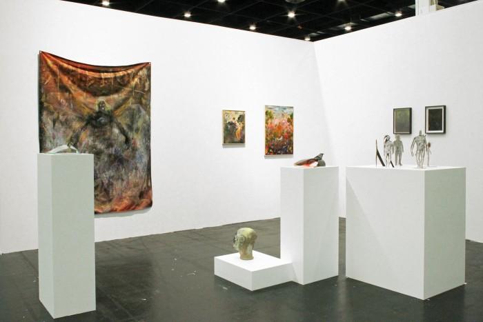 René Spitzer, NADA 2014, installation view