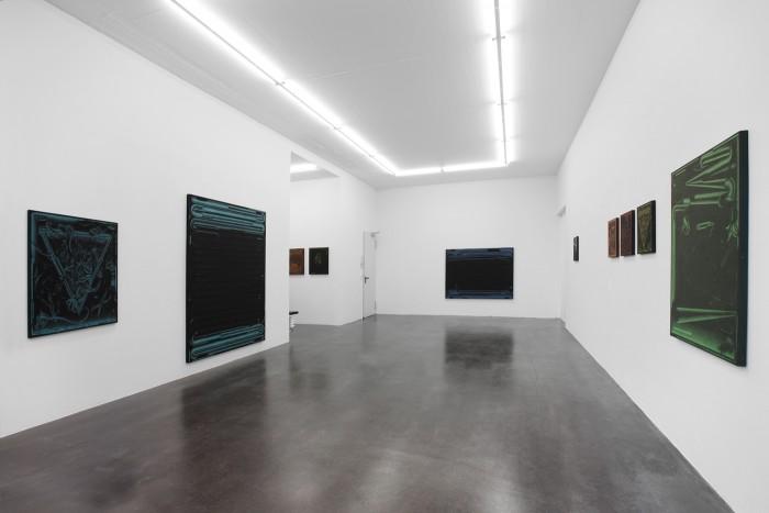 Rene Spitzer, amp, 2014, installation view
