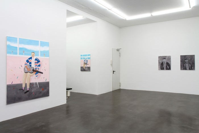 Yuji Nagai, reverb 2015, installation view